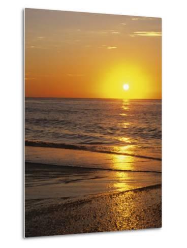 Sunrise Over Myrtle Beach, South Carolina, USA-Dennis Flaherty-Metal Print