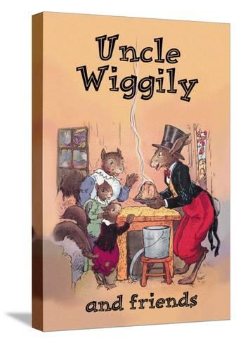 Uncle Wiggily and Friends: Pudding--Stretched Canvas Print