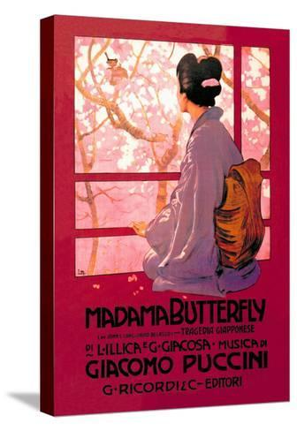 Madama Butterfly--Stretched Canvas Print