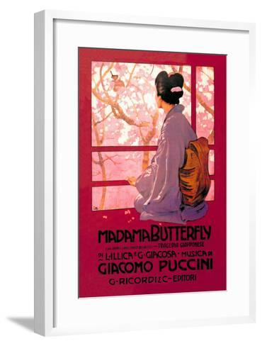 Madama Butterfly--Framed Art Print