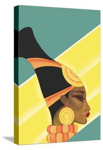 From Darkest Africa-Frank Mcintosh-Stretched Canvas Print
