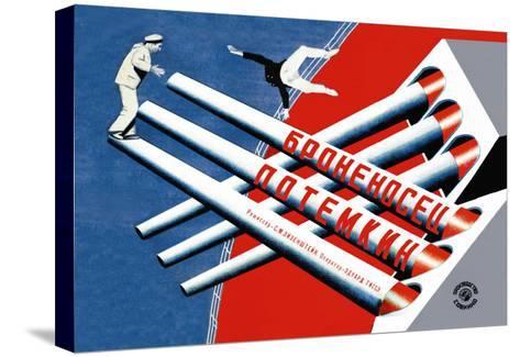 Battleship Potemkin-Stenberg Brothers-Stretched Canvas Print