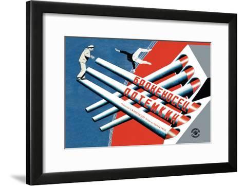 Battleship Potemkin-Stenberg Brothers-Framed Art Print