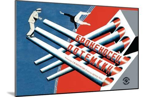 Battleship Potemkin-Stenberg Brothers-Mounted Art Print