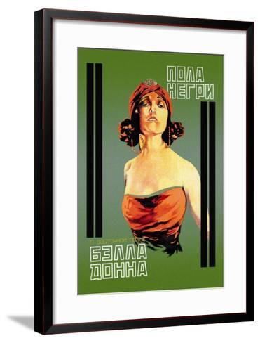 Bella Donna I-Khail O. Dlugach-Framed Art Print
