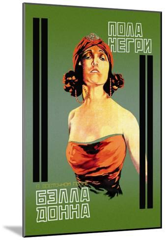 Bella Donna I-Khail O. Dlugach-Mounted Art Print