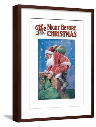 The Night Before Christmas--Framed Art Print