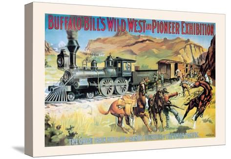 Buffalo Bill: The Great Train Hold Up--Stretched Canvas Print