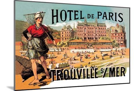 Hotel de Paris: Trouville-sur-Mer, c.1885-Th?ophile Alexandre Steinlen-Mounted Art Print
