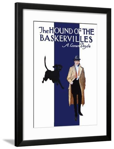 The Hound of the Baskervilles II--Framed Art Print