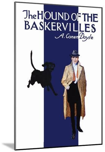 The Hound of the Baskervilles II--Mounted Art Print