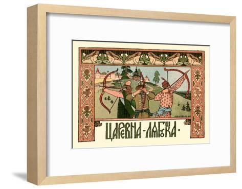 Archers-Ivan Bilibin-Framed Art Print