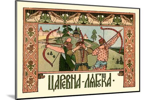 Archers-Ivan Bilibin-Mounted Art Print