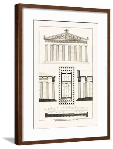 The Parthenon at Athens-J^ Buhlmann-Framed Art Print