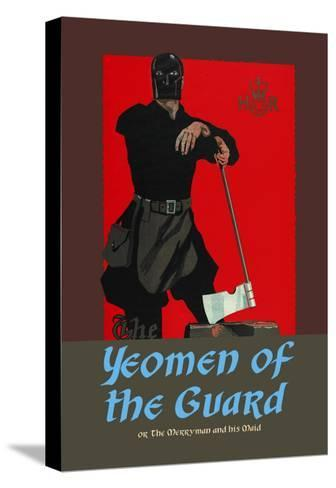 Gilbert & Sullivan: The Yeomen of the Guard (The Executioner)-Dudley Hardy-Stretched Canvas Print