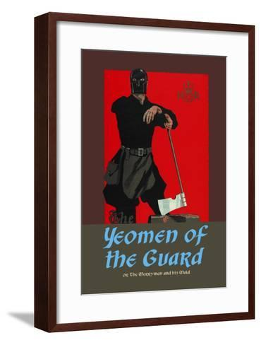 Gilbert & Sullivan: The Yeomen of the Guard (The Executioner)-Dudley Hardy-Framed Art Print