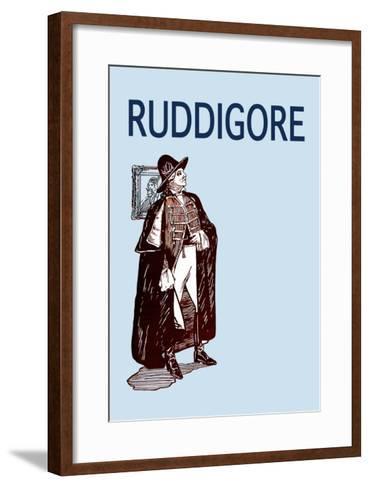Gilbert & Sullivan: Ruddigore--Framed Art Print