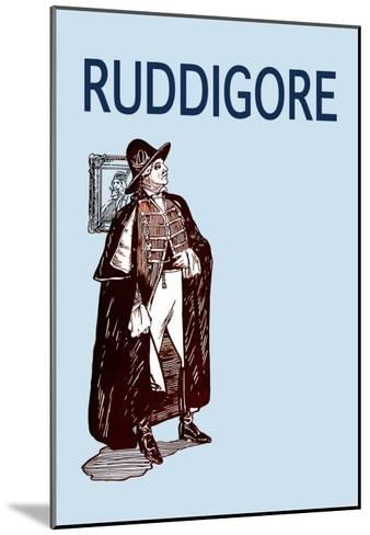 Gilbert & Sullivan: Ruddigore--Mounted Art Print