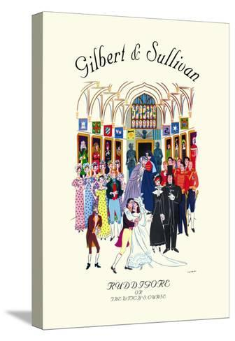 Gilbert & Sullivan: Ruddigore, or The Witch's Curse--Stretched Canvas Print