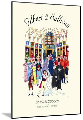 Gilbert & Sullivan: Ruddigore, or The Witch's Curse--Mounted Art Print