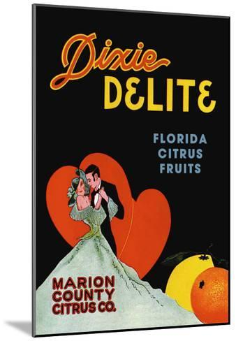 Dixie Delight--Mounted Art Print