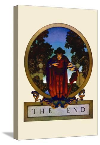 The End-Maxfield Parrish-Stretched Canvas Print