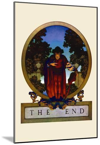 The End-Maxfield Parrish-Mounted Art Print