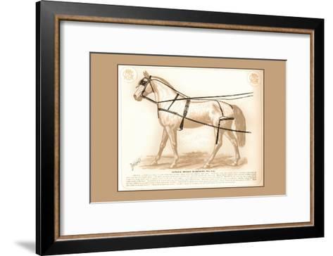 Single Buggy Harness--Framed Art Print