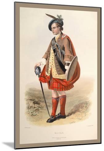 MacNab-R^r^ Mcian-Mounted Art Print