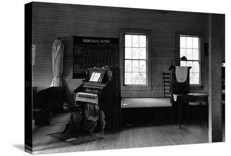 Tennessee Church Interior-Walker Evans-Stretched Canvas Print