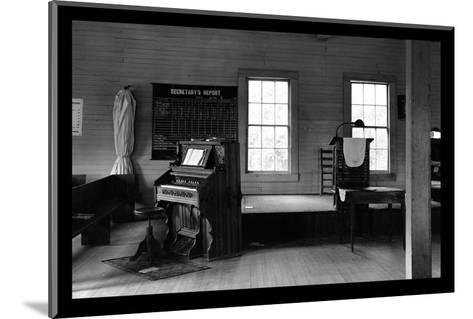 Tennessee Church Interior-Walker Evans-Mounted Photo