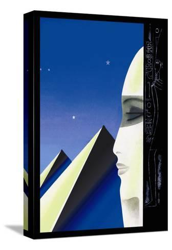 Setting for an Egyptian Story-Frank Mcintosh-Stretched Canvas Print