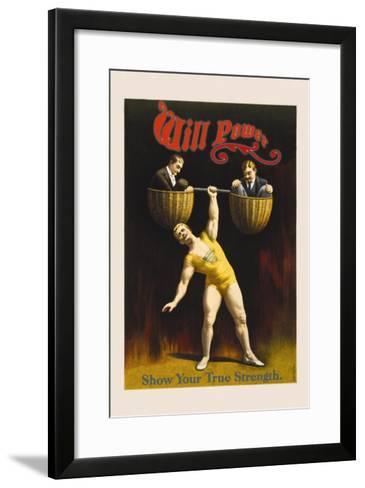 Will Power--Framed Art Print