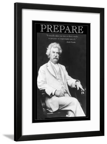 Prepare--Framed Art Print