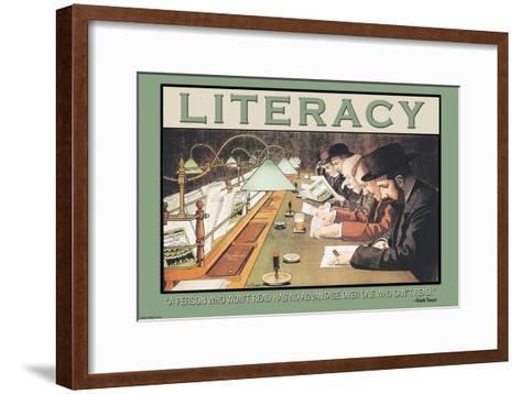 Read--Framed Art Print