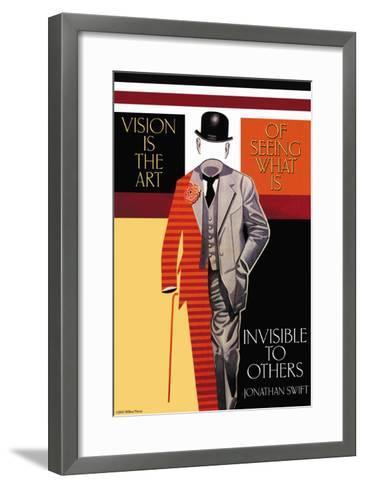 Vision is the Art--Framed Art Print