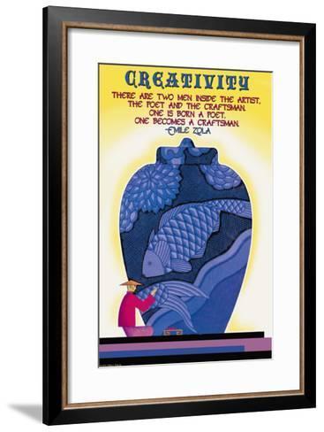 Poet and Craftsman--Framed Art Print