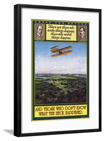 Above and Beyond--Framed Art Print