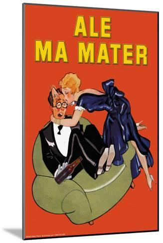 Ale Ma Matter--Mounted Art Print