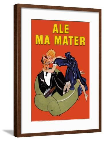 Ale Ma Matter--Framed Art Print