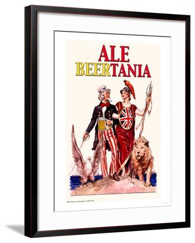 Ale Beertania--Framed Art Print