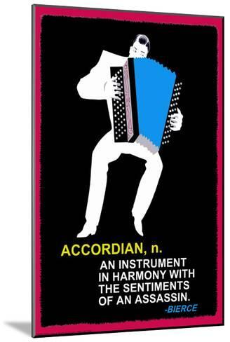 Accordian--Mounted Art Print