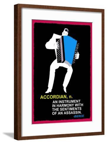 Accordian--Framed Art Print
