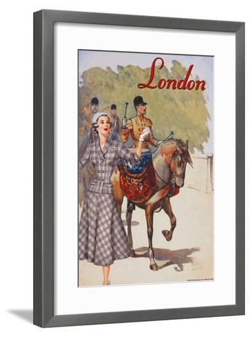 London Touring Suite--Framed Art Print
