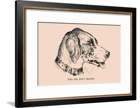 Optical Illusion Puzzle: Find the Dog\'s Master Art Print by | Art.com