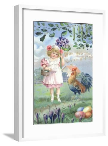 Easter Flowers--Framed Art Print