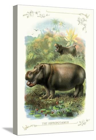The Hippopotamus--Stretched Canvas Print