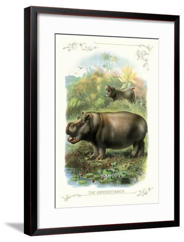 The Hippopotamus--Framed Art Print