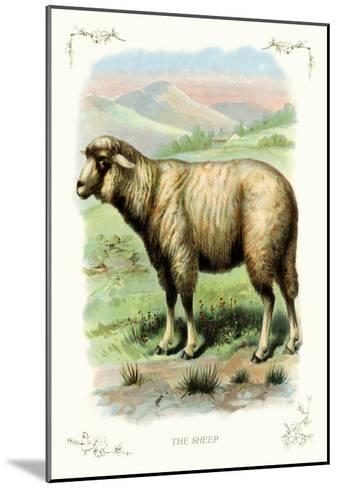 The Sheep--Mounted Art Print