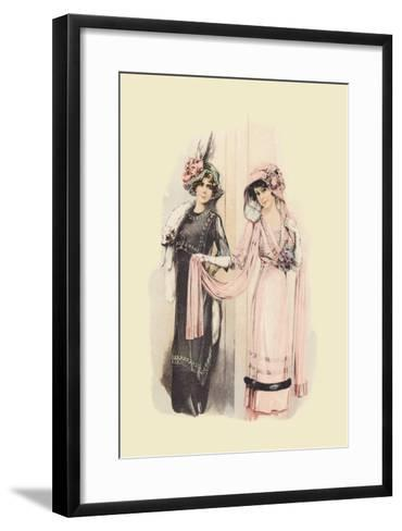 Elegance--Framed Art Print